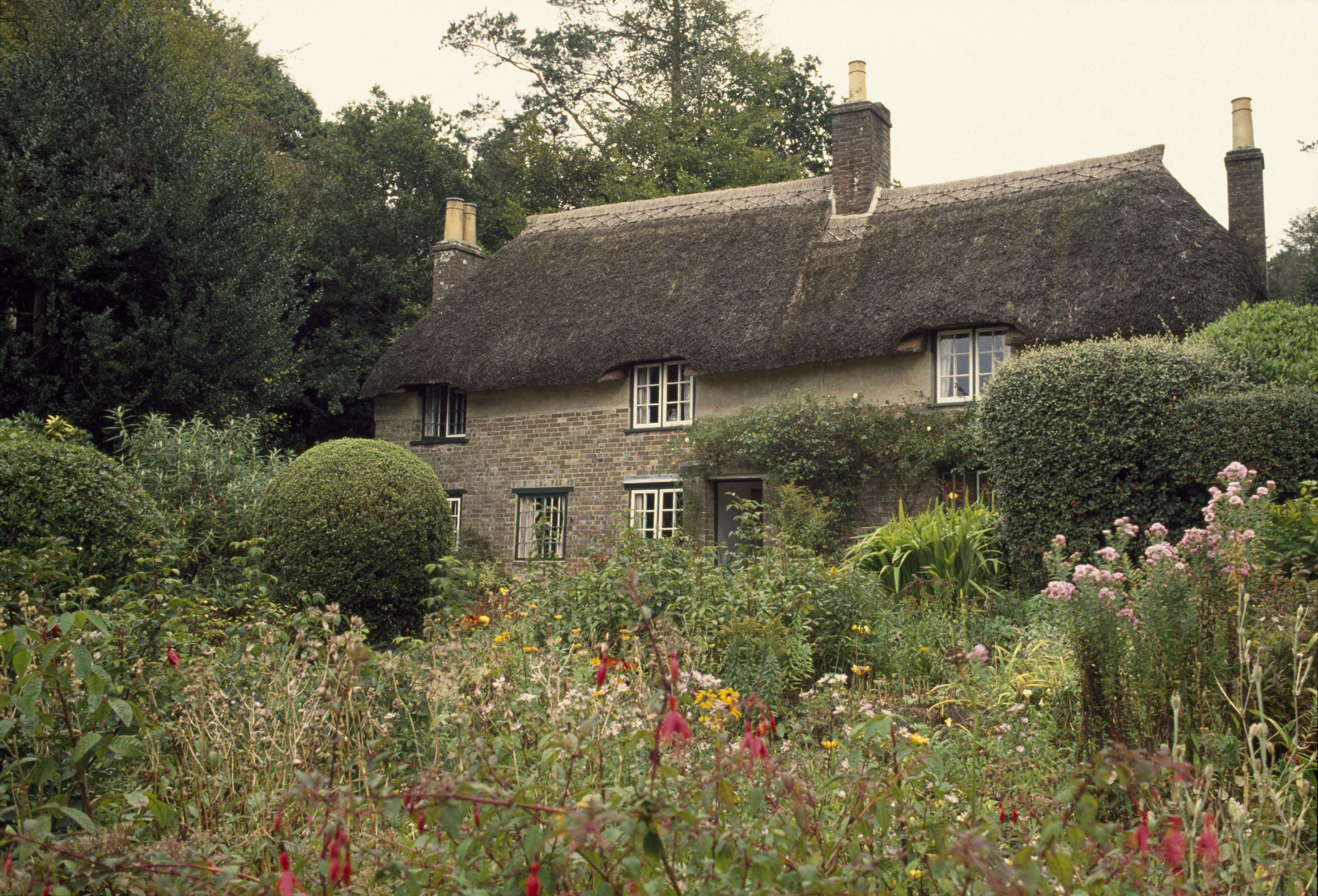 Thatched cottage in Dorset, England, UK